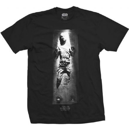 Mens Star Wars Han in Carbonite T Shirt